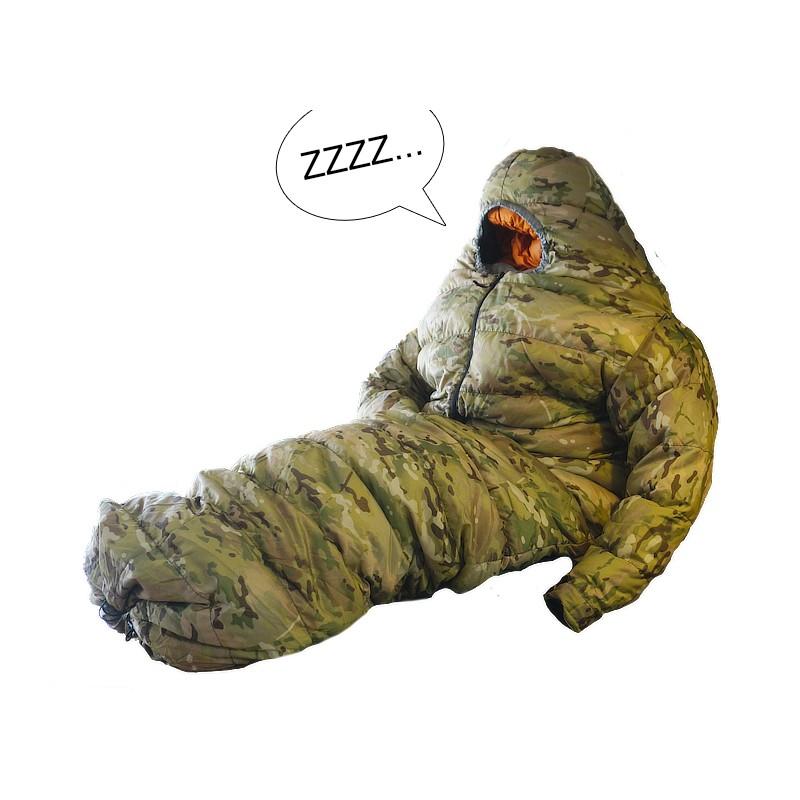 Down Sleeping Bag Suit Wearable Down Sleeping Bag